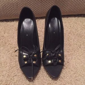 Shoes - Misty Gal Peep Toe Heels
